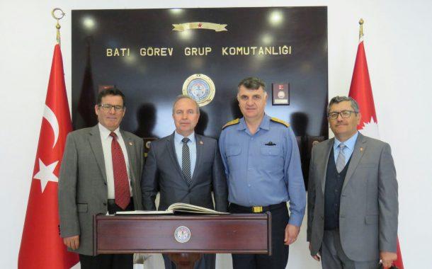 Batı Görev Grup Komutanına Ziyaret